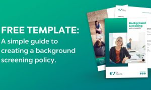 cvcheck background screening policy template