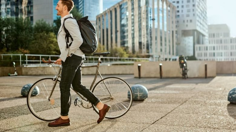 Environmentally Friendly Commute To Workplace