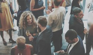 Group Of People Workplace Networking