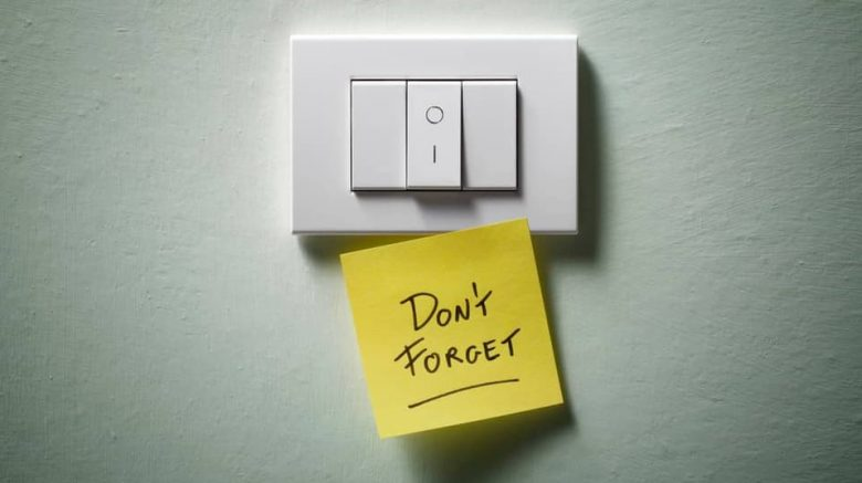 Reduce Energy Footprint Switch Off