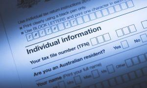 Australian Tax Form